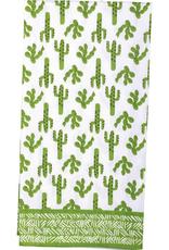 Cactus Green Kitchen Towel