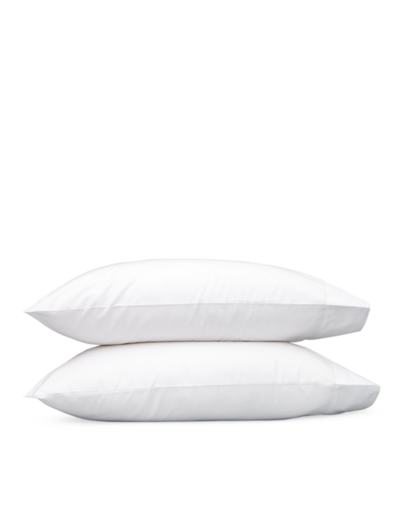Matouk Sierra Hemstitch King Pillowcases - Pair - White