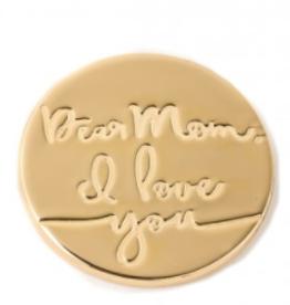 Spartina 449 Locket Keynote Insert - Dear Mom I Love You