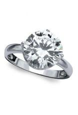 Crislu Solitare 4.16 CZ Ring - Size 8 - Discontinued