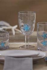 Star Fish Beverage Glass - 16 oz