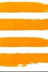 Summer Stripes - Orange - Luncheon Napkin