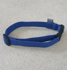 Hot Dog Collar - Blue - Medium