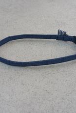 Hot Dog Collar - Blue Jean Denim - Small