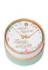 """Spartina 449 Sea La Vie Gold Necklace - Bride/Mrs - 18"""""""
