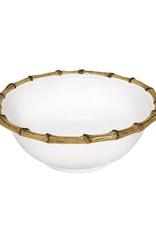 Juliska Classic Bamboo Cereal/Ice Cream Bowl - Natural - 6.5''W x 2.5''H