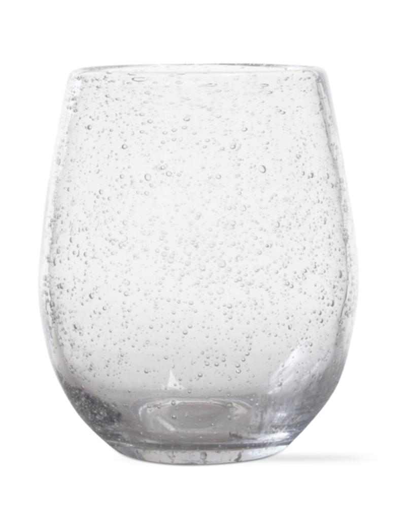 Bubble Glass Stemless Wine Glass