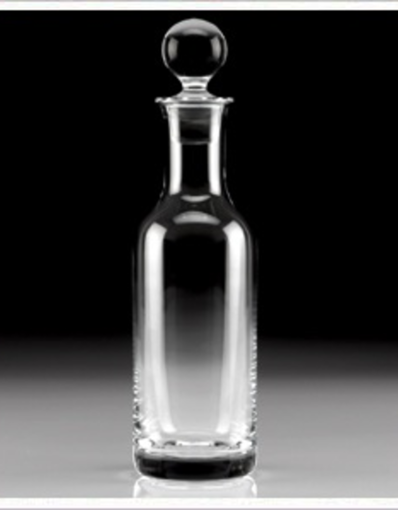 """William Yeoward Crystal Classic Country Oil/Vinegar Bottle - 10"""" Discontinued"""