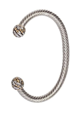 John Medeiros Canias Collection Medium Wire Cuff Bracelet