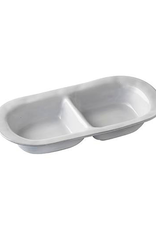 Juliska Quotidien Two Section Server - White Truffle - Discontinued