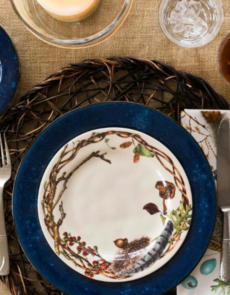 Juliska Discontinued Puro Dappled Cobalt Dinner Plate