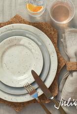"Juliska Puro Vanilla Bean Side/Cocktail Plate - 7"" - Discontinued"
