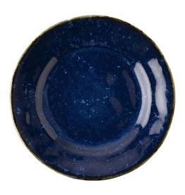 Juliska Discontinued Puro Dappled Cobalt Side/Cocktail Plate