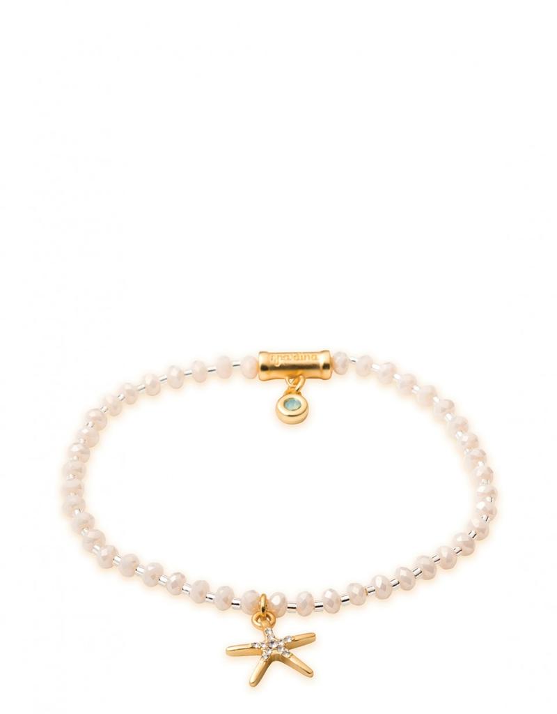 Spartina 449 Twinkle Stretch Bracelet Cream/Starfish