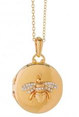 Spartina 449, LLC Round Locket Necklace - Bee
