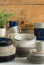 Juliska Discontinued Puro Dappled Cobalt Coffee / Tea Cup