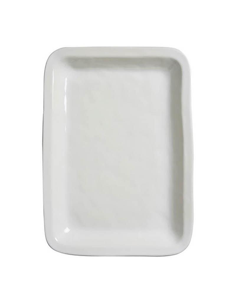 Juliska Puro Rectangular Tray/Platter - Whitewash - Discontinued