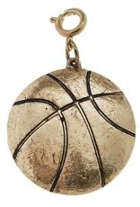Basketball Charm - Gold