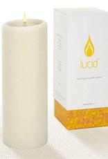 Lucid Candle Natural Pillar Candle - 3x8