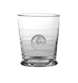 Juliska Berry and Thread Double Old Fashioned Glass - 13oz