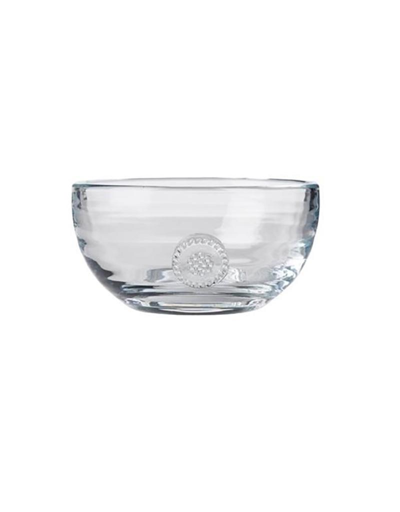 "Juliska Berry and Thread Small Glass Bowl - 5"""