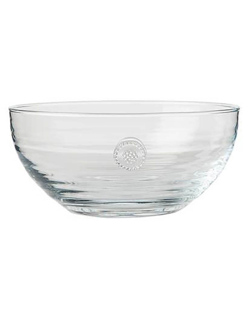 Juliska Berry and Thread Medium Glass Bowl -  8.5''W