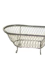 Wire Bath Tub Container