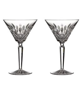 Waterford Lismore Martini Glass - Set of 2