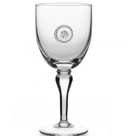 Juliska Berry and Thread Stemmed Wine Glass - Clear