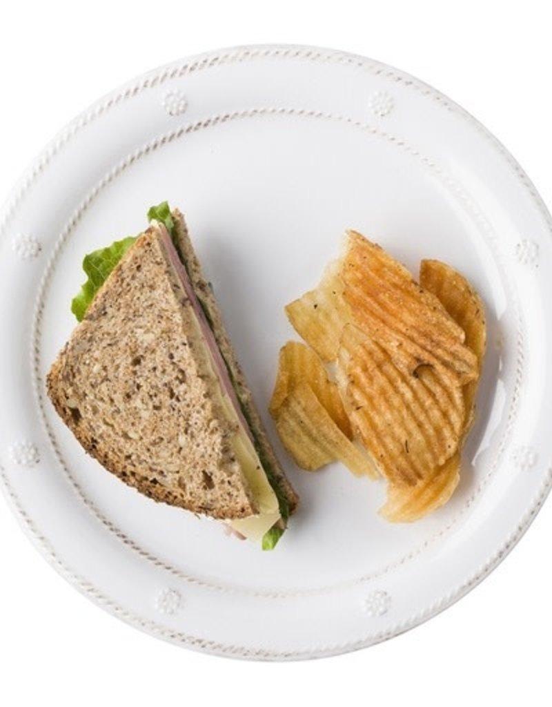 Juliska Berry and Thread Melamine Whitewash Salad Plate