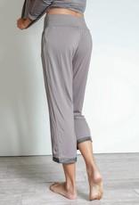 Earl Grey Bamboo Capri Pants - Large
