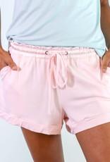 Bamboo Short Shorts - Pink -  X-Large