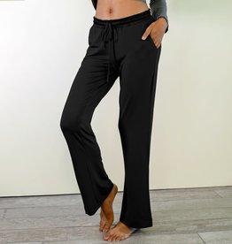 Bamboo Long Pants - Black - X-Large