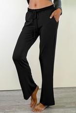 Bamboo Long Pants - Black - Small