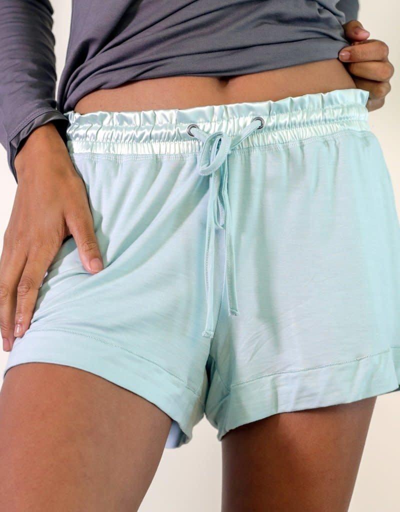 Aqua Bamboo Short Shorts - Small