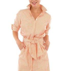 Gretchen Scott Designs Breezy Blouson Dress - Coral - Large