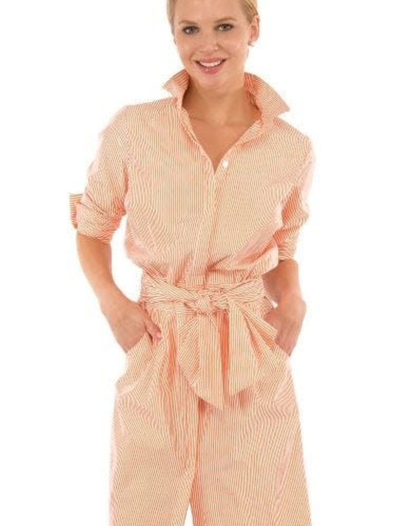 Gretchen Scott Breezy Blouson Dress - Coral - Large