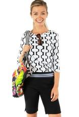 Gretchen Scott Designs GripeLess Bermuda Short - Black - Large
