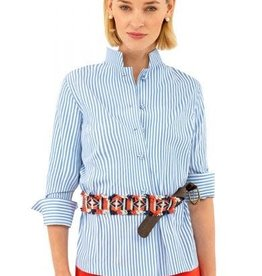 Gretchen Scott Designs Wash and Wear Forget Me Knot Top - Periwinkle - X-Large