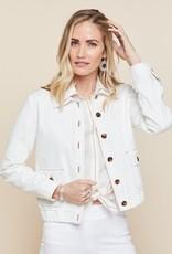 Spartina 449, LLC Adler Denim Jacket Pearl White - Medium
