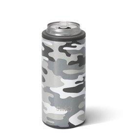 Swig Swig 12oz Skinny Can Cooler - Incognito Camo