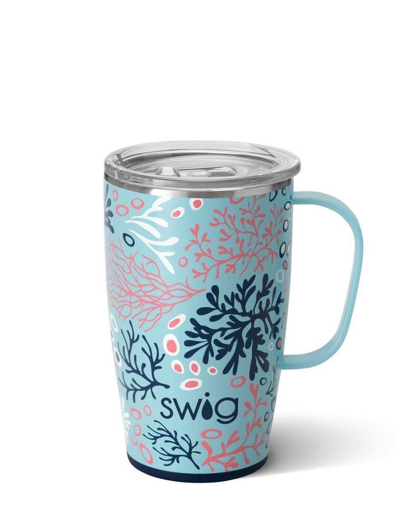 Swig Swig 18oz Mug - Coral Me Crazy