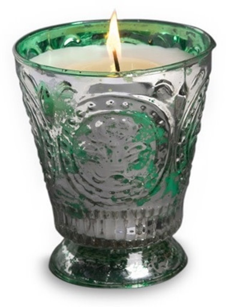 Himalayan Trading Post Fleur de Lys Candle - Hidden Cove