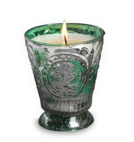 Himalayan Trading Post Fleur de Lys Candle - Wild Green Fig