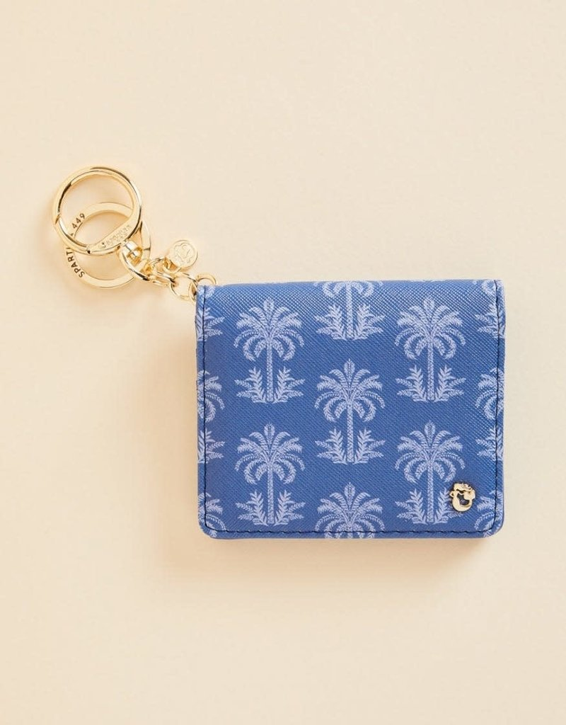 Spartina 449 Card Keychain Oyster Alley Palm