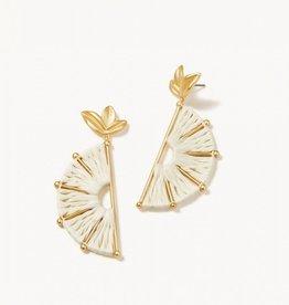 Spartina 449 Citrus Earrings Cream