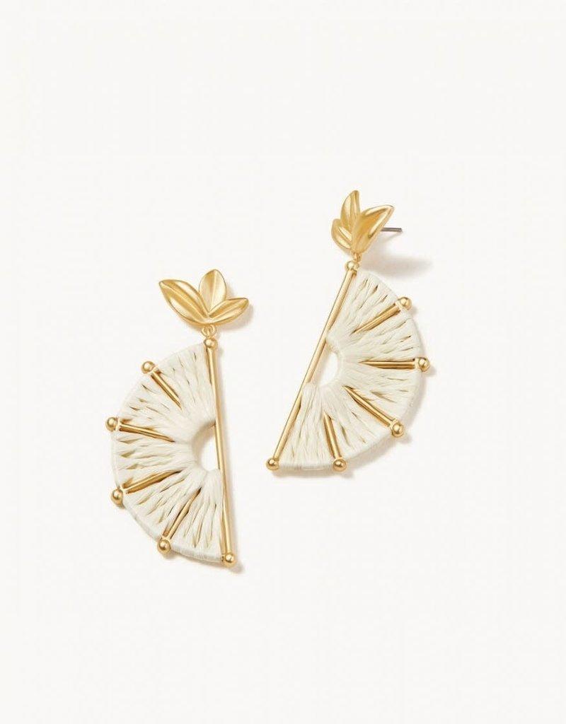 Spartina 449, LLC Citrus Earrings Cream