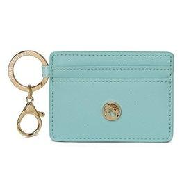 Spartina 449 Key Chain Card Holder - Aqua