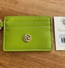 Spartina 449 Key Chain Card Holder - Lime