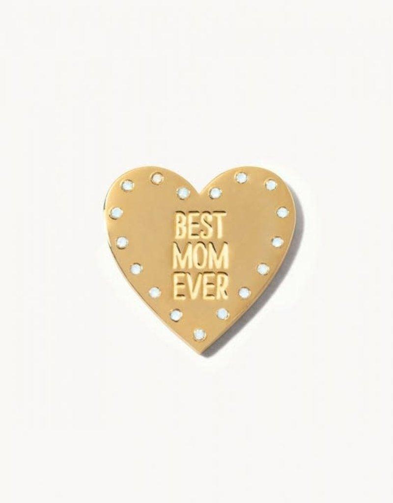 Spartina 449 Locket Keynote Insert - Best Mom Ever